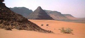 "Screen capture of scene from ""Lawrence of Arabia"""