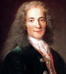 "Voltaire : a very loud ""frog"" croaking out anti-Biblical nonsense"