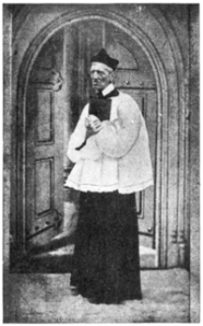 John Henry Newman (when he was a professing Anglican)