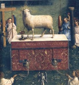 Ghent_Altarpiece_D_-_Lamb
