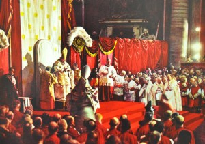 papal throne in colour ii