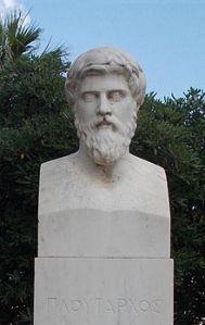 historian Plutarch (46 A. D. - 120 A. D.)