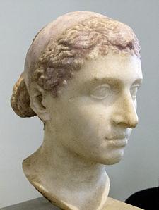 Bust of Cleopatra VII (69 B. C. - 30 B. C.)