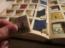 tiny books in a book